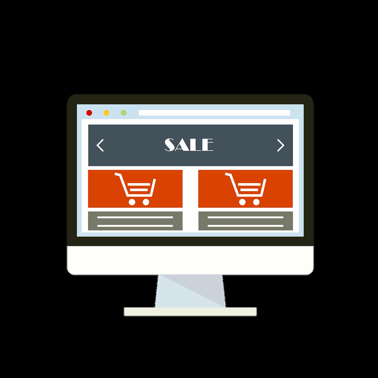 Zakupy w sklepach internetowych